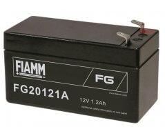 12V/1.2Ah FIAMM 5 års Blybatteri FG20121A