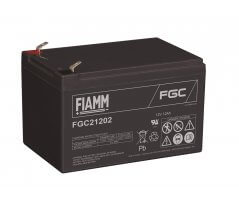 12V/12Ah FIAMM Cyclic Blybatteri FGC21202