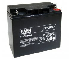 12V/18Ah FIAMM Cyclic Blybatteri FGC21803