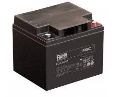 12V/42Ah FIAMM Cyclic Blybatteri FGC24207