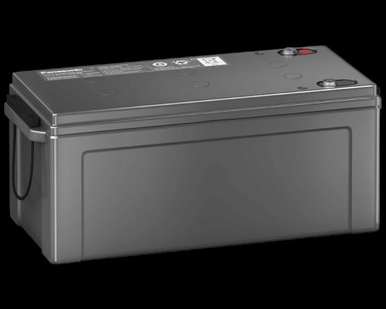 12V/200Ah Panasonic Blybatteri 10-12år LC-P12200BP