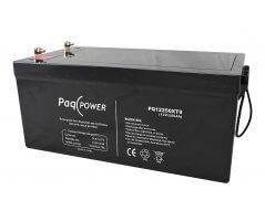 12V/250Ah PaqPOWER Blybatteri 10 års T13 terminal