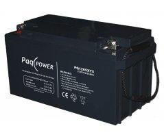 12V/65Ah PaqPOWER Blybatteri 10 års T5 terminal