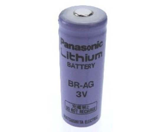 BR-AG Panasonic Lithium cylinder batteri