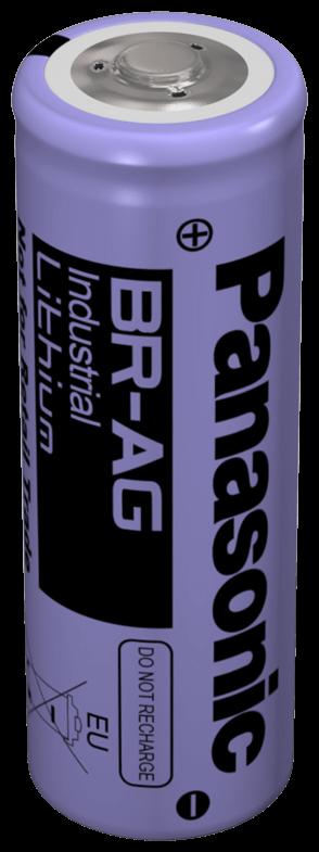 BR-AG Lithium Panasonic rundcellebatteri