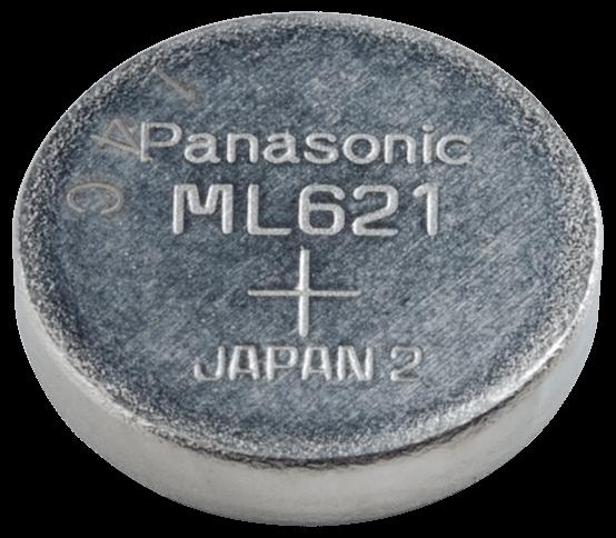 ML621S Panasonic Lithium knapcelle 6,8x2,1mm