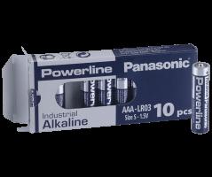 AAA/LR03 Powerline batteri/10pak