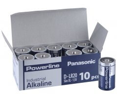 LR20/D-Size Powerline batteri/10 pakæske