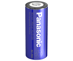 Panasonic NiMH batteri 4/5A High Temp BK-160AH