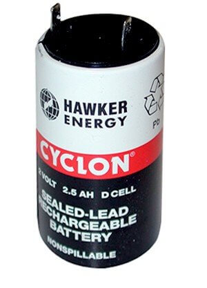 Rundcelle Bly Cyclon