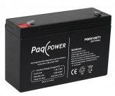 6V/10Ah PaqPOWER Blybatteri 5 års