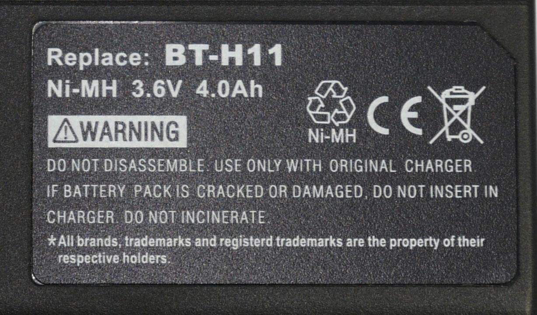 Sharp VL-E33 batteri BT-H11