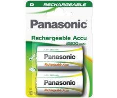 D/P20P Panasonic genopladelig 2800mAh