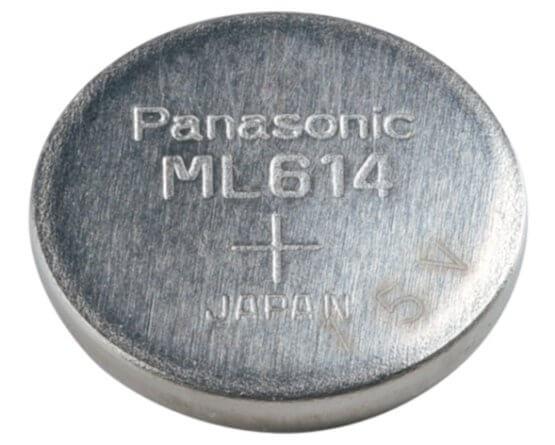 ML-614S/FN Panasonic Lithium knapcelle