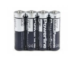 AAA/LR03 Powerline batteri/4 pak folie