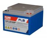12V/26Ah FIAMM 12 års Blybatteri UPS 12FLB100