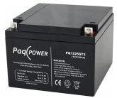 12V/25Ah PaqPOWER Blybatteri 5 års T3