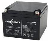 12V/25Ah PaqPOWER Blybatteri 5 års T10