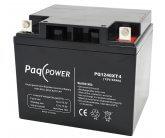 12V/40Ah PaqPOWER Blybatteri 10 års T4