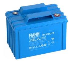 2V/250Ah FIAMM SLA Blybatteri 2SLA250