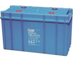 2V/580Ah FIAMM Blybatteri 2SLA580