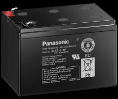 12V/16Ah Panasonic Blybatteri cycle LC-CA1216P