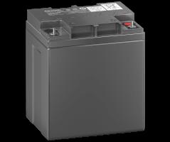 12V/24Ah Panasonic 10-12 års backup Blybatteri M5