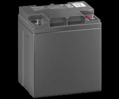 12V/28Ah Panasonic 10-12 års backup Blybatteri M5