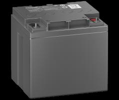 12V/42Ah Panasonic 10-12 års backup Blybatteri M6