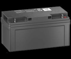 12V/75Ah Panasonic 10-12 års backup blybatteri M6