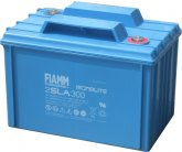 2V/300Ah FIAMM SLA Blybatteri 2SLA300