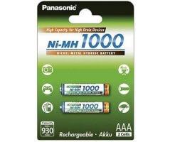 AAA/P03 Panasonic High Capacity 1000mAh