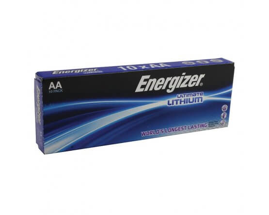 LR6 Lithium FR-6 AA Energizer L91 batteri