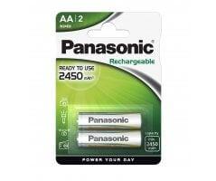 AA/P6P Panasonic genopladelig 2450mAh