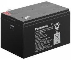 12V/12Ah Panasonic Blybatteri cycle LC-CA1212P1