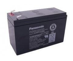 12V/7.2Ah Panasonic vindmølle Blybatteri Faston250