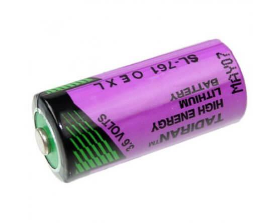 Size 2/3AA Tadiran 3,6V Lithium batteri
