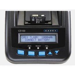 Cadex C5100 Li-Ion Batteritester med 2 kanaler