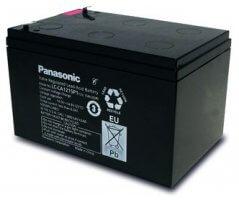12V/15Ah Panasonic Cyclic Blybatteri Faston 250