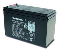 12V/7.2Ah Panasonic 6-9 års Blybatteri Faston 250