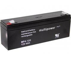 12V/4Ah Blybatteri Multipower