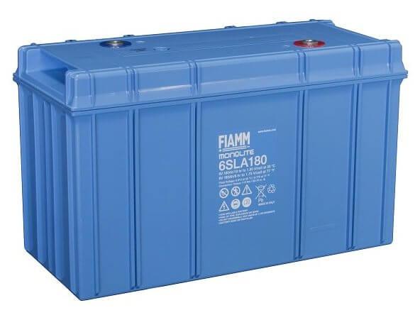6V/180Ah FIAMM Blybatteri 6SLA180