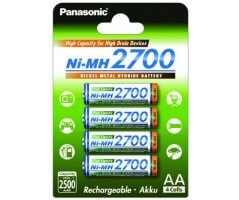 AA/P6 Panasonic High Capacity 2700mAh
