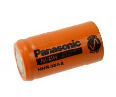 Panasonic NiMH 2/3AA batteri Flad Top