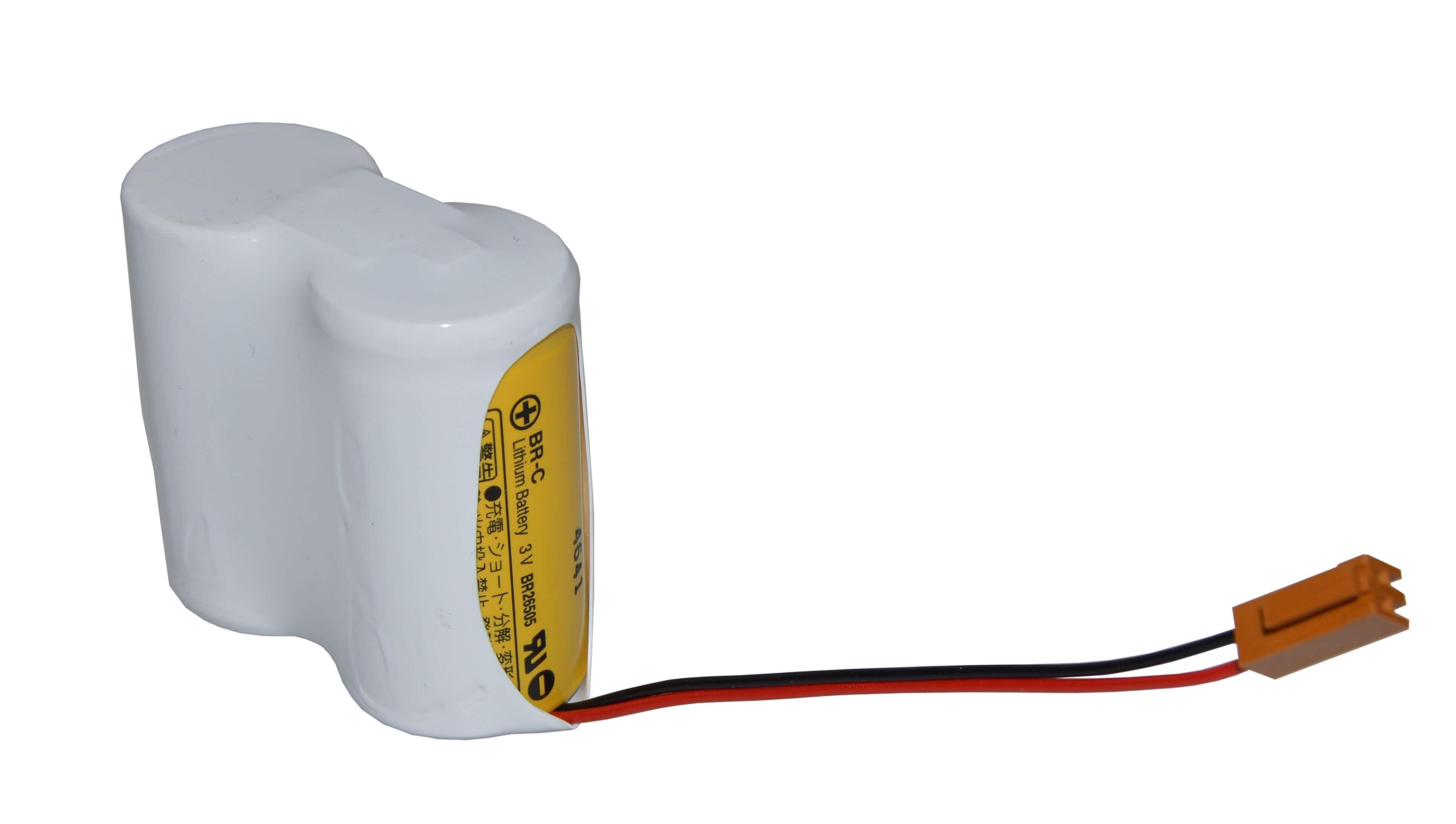 Lithium pakke ledning+JAEL stik Panasonic