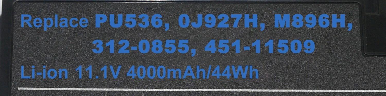 Dell Latitude XT2 batteri 451-11509