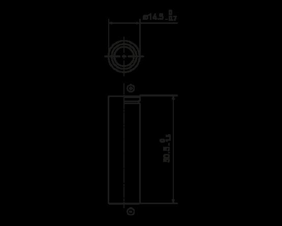Panasonic NiMH batteri AA-size High Temp