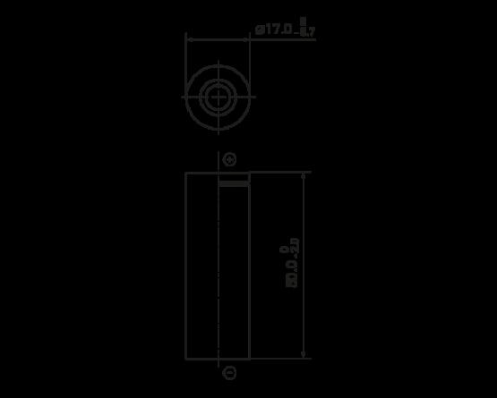 Panasonic NiMH A size (HR17/50) HHR-210AH