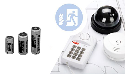 Batterier til brandsikringssystemer