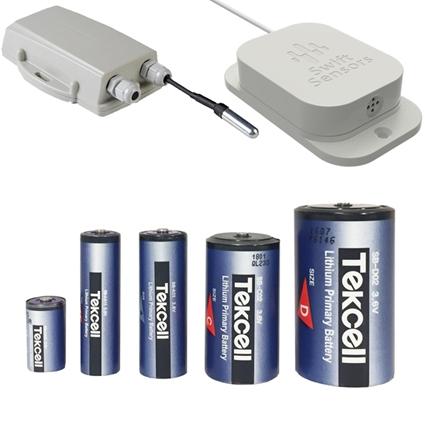 Batterier til sensorer